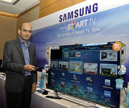 Raj Kumar Rishi, vice president, AV Business, Samsung India