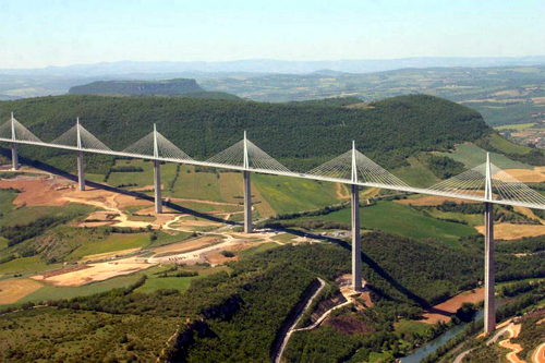 Millau Viaduct.
