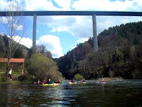Lignon Viaduct.