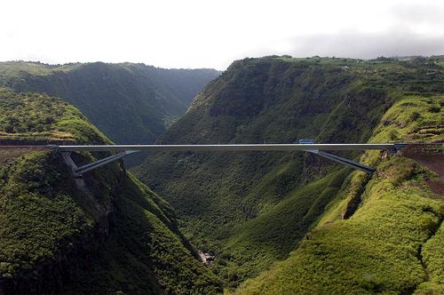 Grande Ravine Bridge.