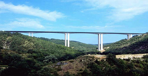 Rauze Viaduct.