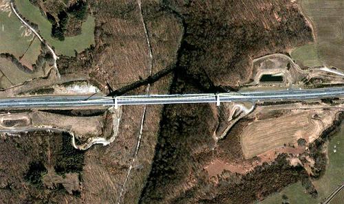 Chavanon Bridge.