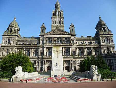 Glasgow City Chambers and War Memorial