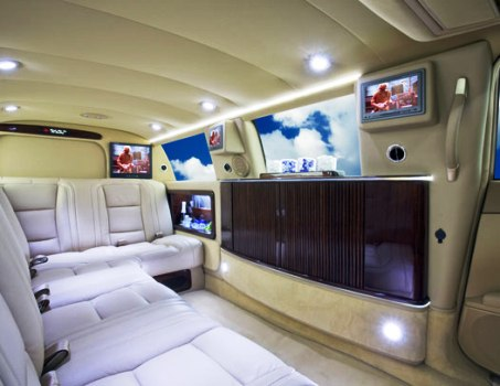 Mercedes S550 100 Ultimate interior.