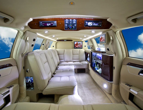 Mercedes S550 100 Ultimate interior.