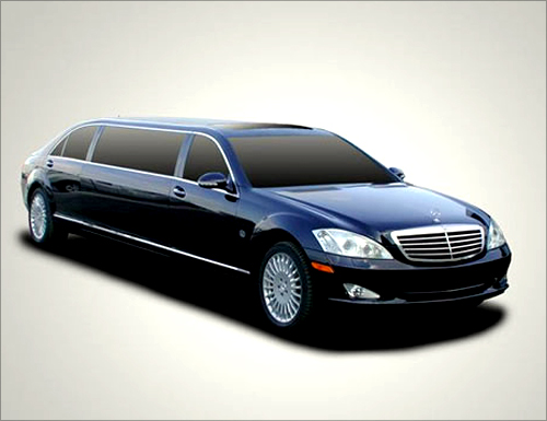 Mercedes S550 Pullman 54.