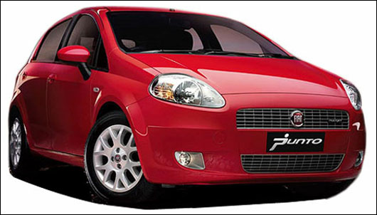 Fiat Punto and its 4 closest rivals