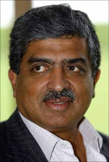 Why is Nandan Nilekani talking about plumbing?