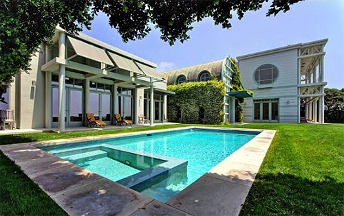 Terry Semel's mansion.