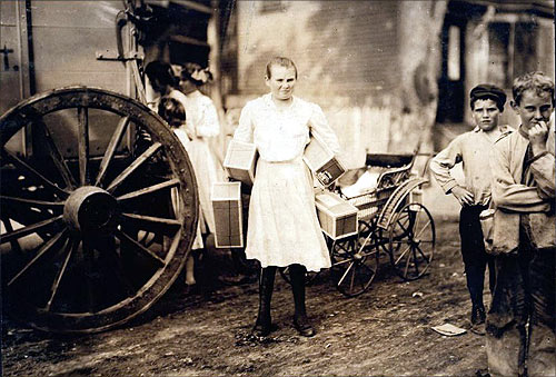 How child labourers toiled in America