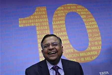 N. Chandrasekaran, CEO, Tata Consultancy Services