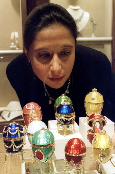 Amazing 'eggs' worth over millions of dollars