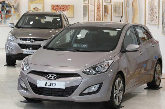 Hyundai Motor's i30.