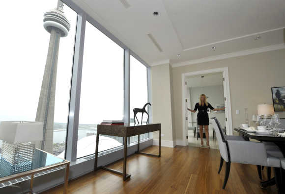 Sales Manager Jacqueline Yaffe at the Ritz Carlton in Toronto.