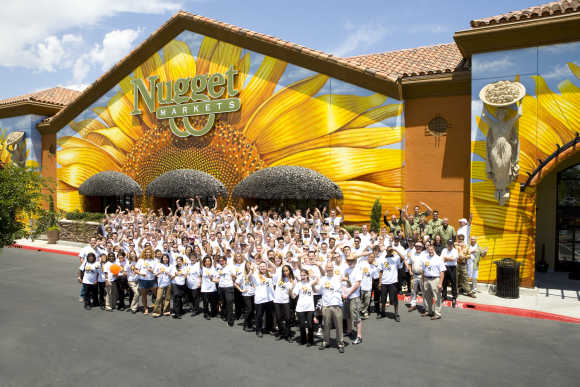 Nugget Markets is headquartered in Woodland, California.