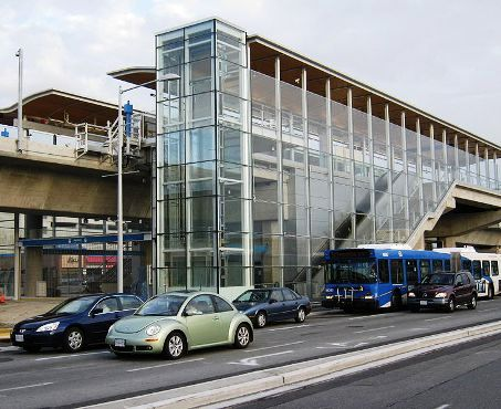 Aberdeen Station (TransLink), Richmond, British Columbia.