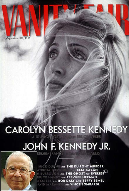 Donald Newhouse's company owns Vanity Fair magazine.