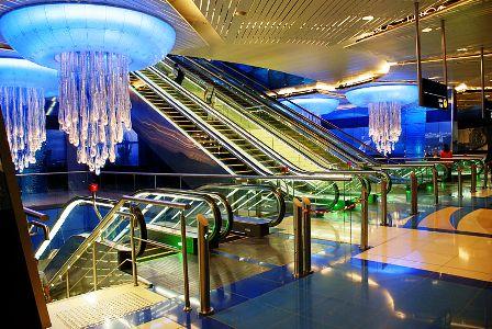 Metro Dubai on its opening day, September 10, 2009.