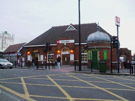 Forest Gate Railway Station.