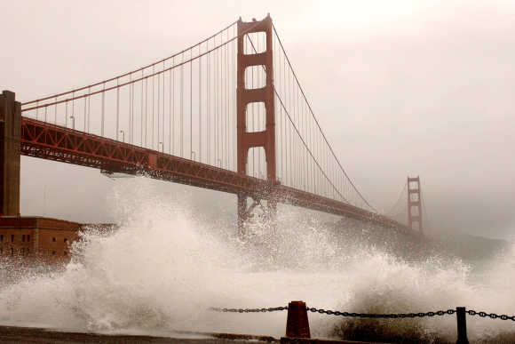 Iconic Golden Gate Bridge turns 75
