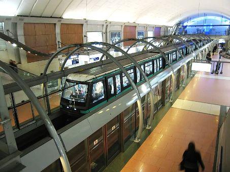 M tro de Paris, Station Chatelet (ligne 14), Paris.