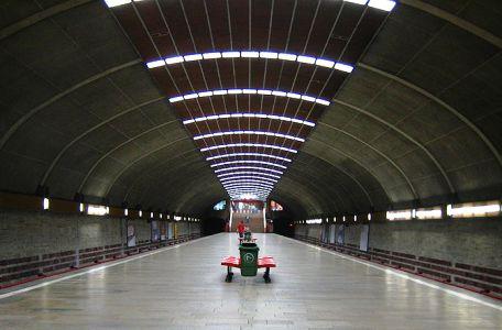 Titan Metro Station, Bucharest.
