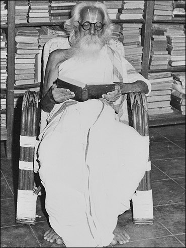 Govindarajan's paternal grandfather Krishnamacharia.