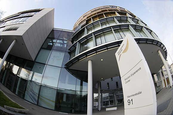 German headquarters of Nokia Siemens Networks in Munich.