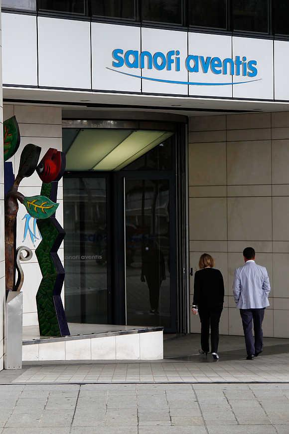 Sanofi-Aventis headquarters in Paris.