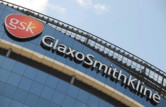 GlaxoSmithKline's headquarters in west London.