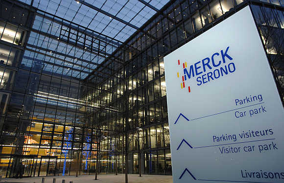 Merck Serono's headquarters in Geneva, Switzerland.