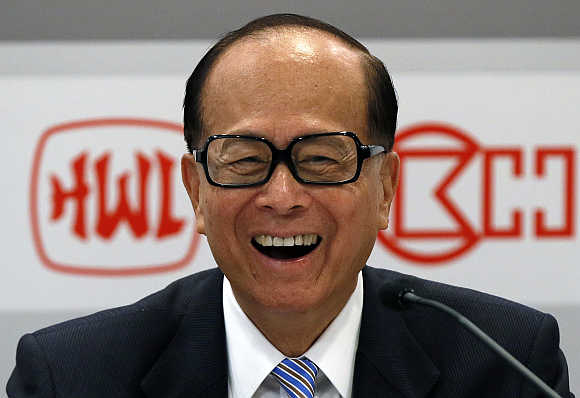 Li Ka-shing.