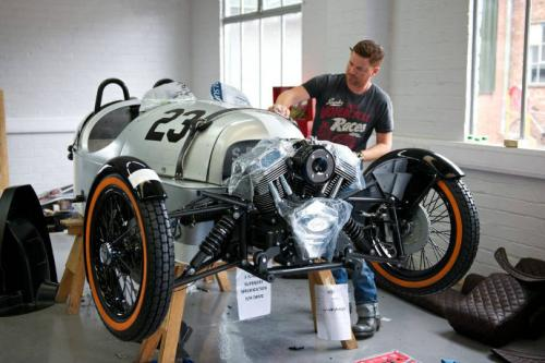Morgan Superdry: Is it bike or car? You decide