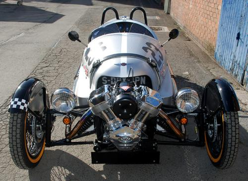 Morgan Superdry: Is it bike or car? You decide
