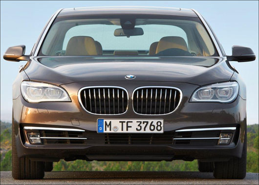 New BMW 7 Series will be launched in 2013