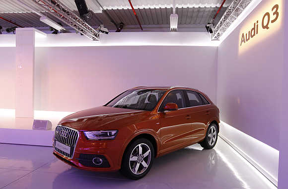 Audi Q3 in Martorell near Barcelona, Spain.