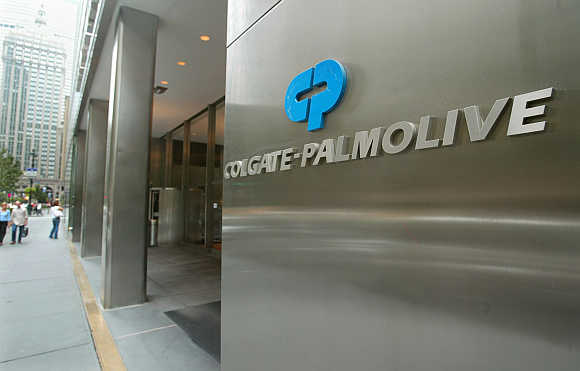 Colgate-Palmolive headquaters in New York City.