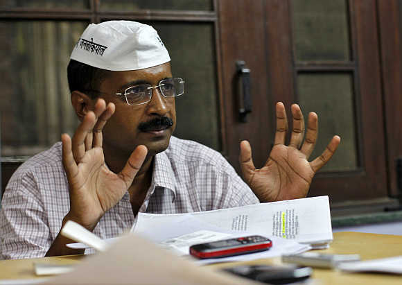 Arvind Kejriwal.