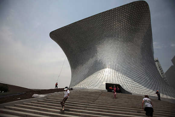 Soumaya Museum in Mexico City.
