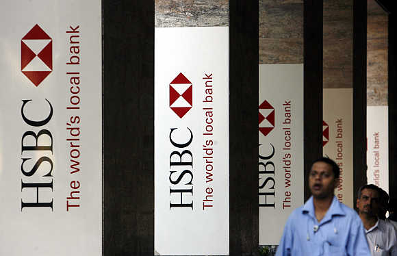 HSBC's office in Mumbai.