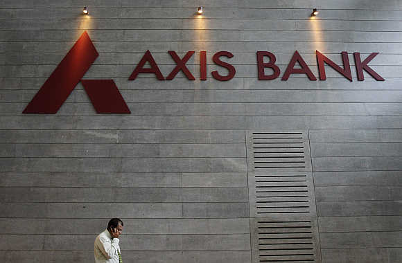 Axis Bank's corporate headquarters in Mumbai.