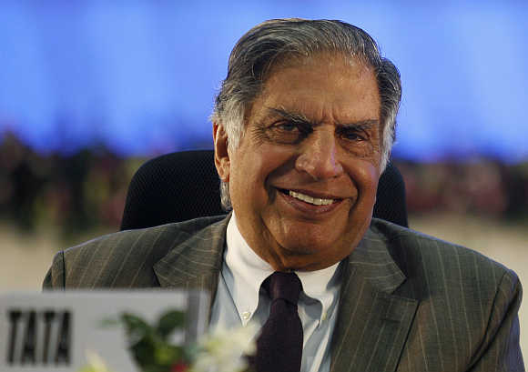 Ratan Tata, Chairman, Tata Sons.