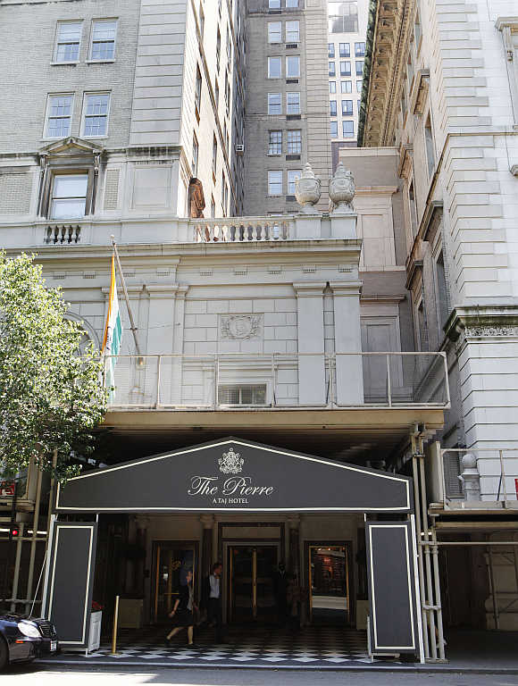 Pierre Hotel in New York.