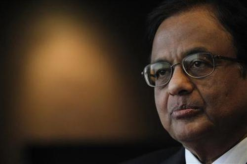 Finance Minister P. Chidambaram