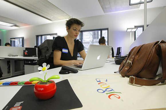 Google's France headquarters in Paris.