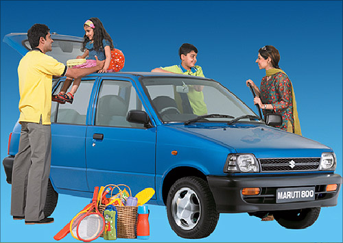 Maruti 800.