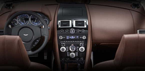 Aston Martin DBS Volante.