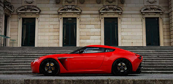 Aston Martin's V12 Zagato.