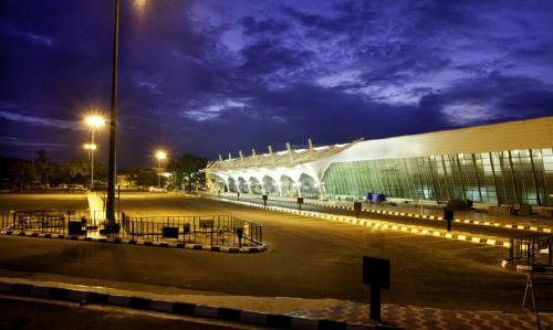 Coimbatore Airport located at Peelamedu