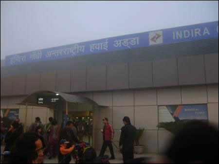 Fog has caused havoc in flying schedules of thousands of air travellers in India. File photo of the international airport in New Delhi.